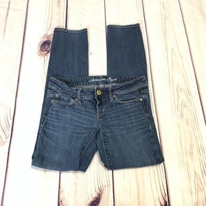AE American Eagle skinny short casual jeans